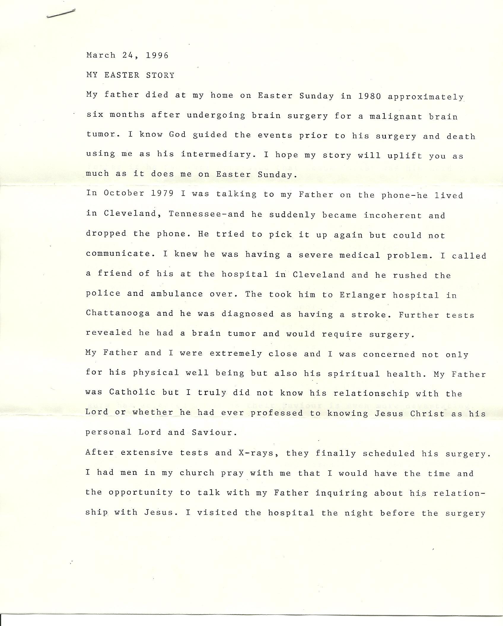 Letters Men I Have Loved