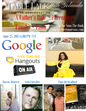 Table Talk with Yolanda Parenting Family Faith ~ Fathers