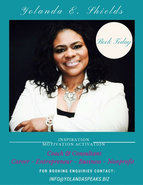 Yolanda Speaks - BOOK TODAY!!