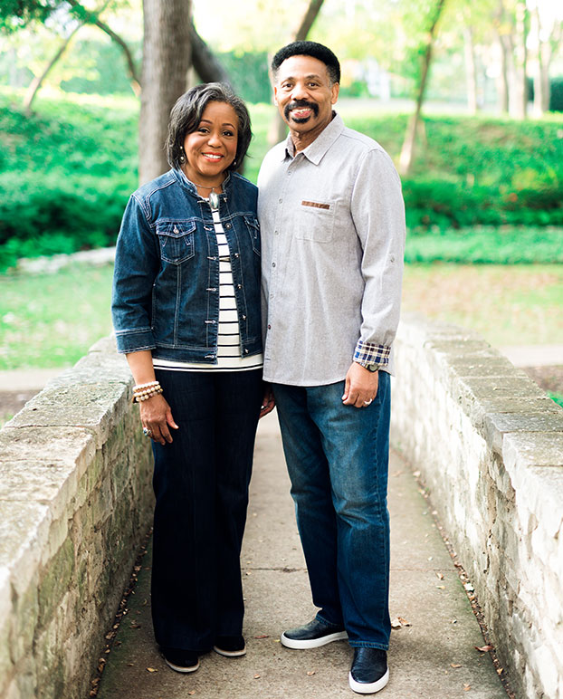 Lois Evans and PAstor Tony Evans